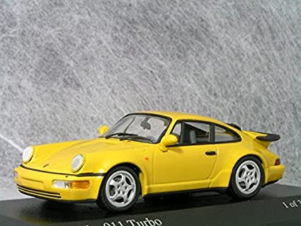 Minichamps 1/43 Porsche 911 (964) Turbo/Yellow 〓 Porsche