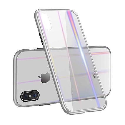 Amazon.com: Funda de adsorción magnética para iPhone 7/8 7P ...