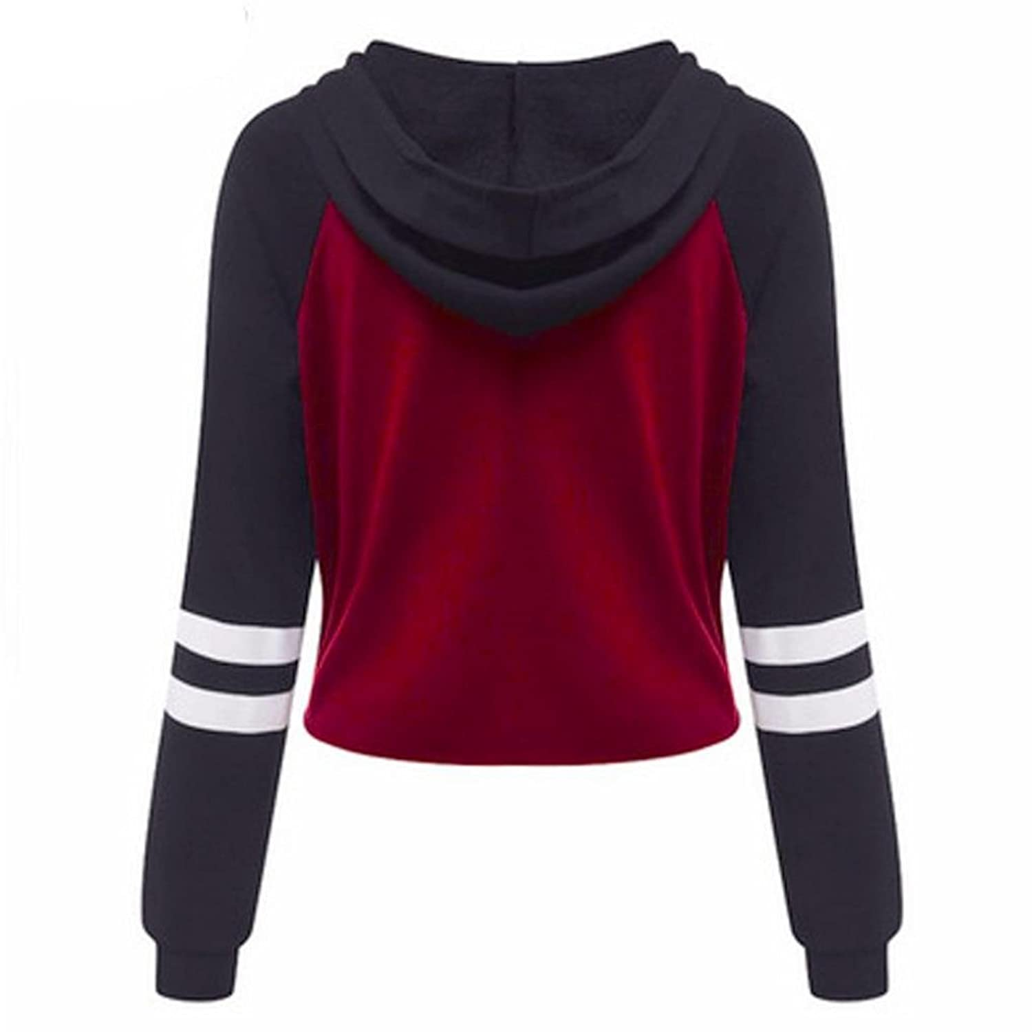 @ KESEE Women Letters Printed Round Neck Hedging Blouse