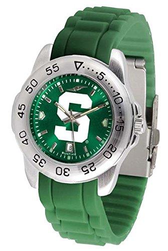 Michigan State Spartans Sport Silicone Men's Watch ()