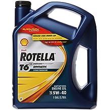 Shell Rotella 550019921 T6 5W-40 Full