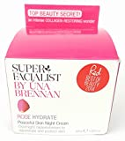 Super Facialist by Una Brennan Rose Hydrate Peaceful Skin Night Cream 1.69 Oz For Sale