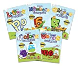 Preschool Prep Coloring Book Pack - 5 Coloring Books (Meet the Letters, Meet the Numbers, Meet the Shapes, Meet the Colors and Meet the Sight Words)