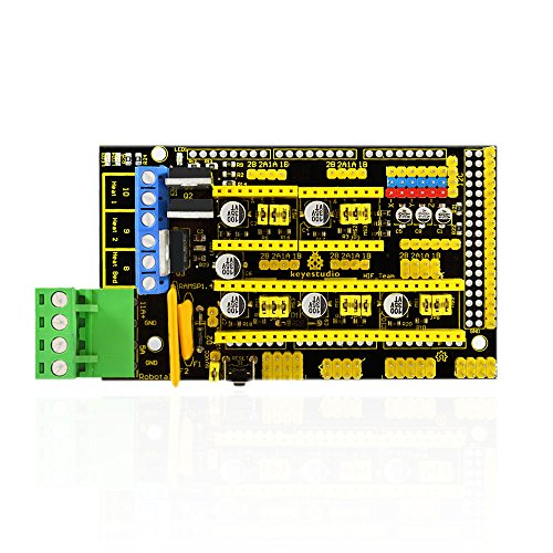 KEYESTUDIO 3D Printer Controller RAMPS 1.4 REPRAP MENDEL PRUSA for Arduino Mega by KEYESTUDIO