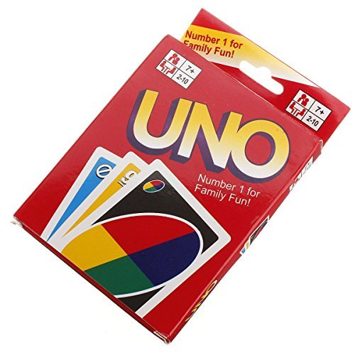 NEW UNO Standard 108 English Fun Cards Game For Family by Best Music Posters