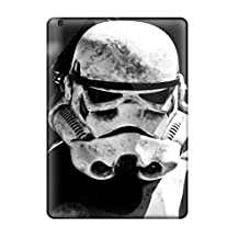 New Arrival PfSghoT27204zvByr Premium Ipad Air Case(star Wars Stormtrooper Closeup Black And White Stormtroopers Helmets Portraits George Lucas Force Je People Movie)