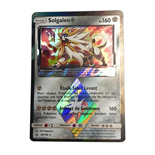 Carte pokemon SOLGALEO 160 PV 89/156 Série Ultra Prisme version française