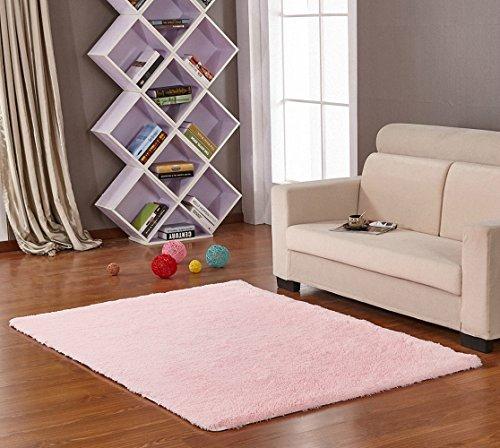HANYUN Super Soft Modern Living Room Bedroom Anti-skid Shag Area Rug Carpet 4-Feet By 5-Feet / 120cm 160cm - Chandler 1971