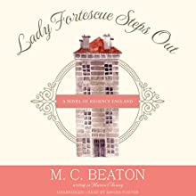 Lady Fortescue Steps Out: The Poor Relation, Book 1 Audiobook by M. C. Beaton Narrated by Davina Porter