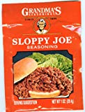 Grandma's Sloppy Joe Seasoning-12 Packets, 1 oz