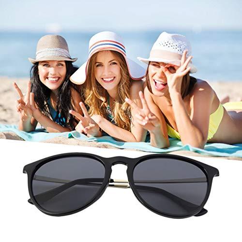 Eye Unisexe Womens rondes rétro Black UV400 marque Mens Designer Cat mode classique soleil lunettes élégant Vintage de lunettes FSFWBrY