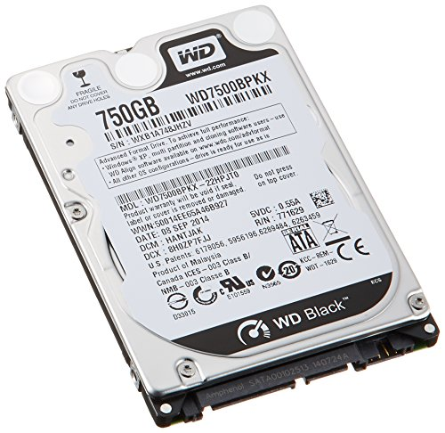 western digital black 750gb - 9