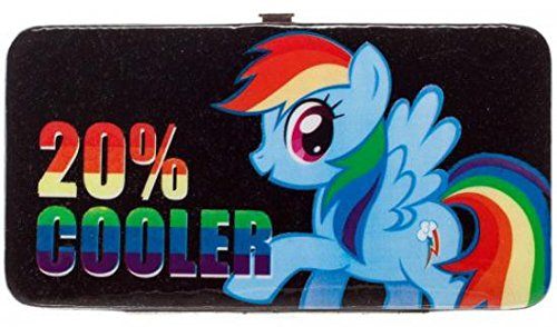 My Little Pony Juniors Hinge Wallet Rainbow Dash 20% Cooler -