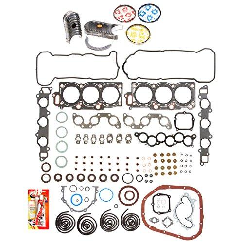 (Domestic Gaskets Engine Rering Kit FSBRR2033EVE\0\0\0 Fits 94-00 Lexus ES300 Toyota Avalon Sienna 3.0 1MZFE Full Gasket Set, Standard Size Main Rod Bearings, Standard Size Piston Rings)