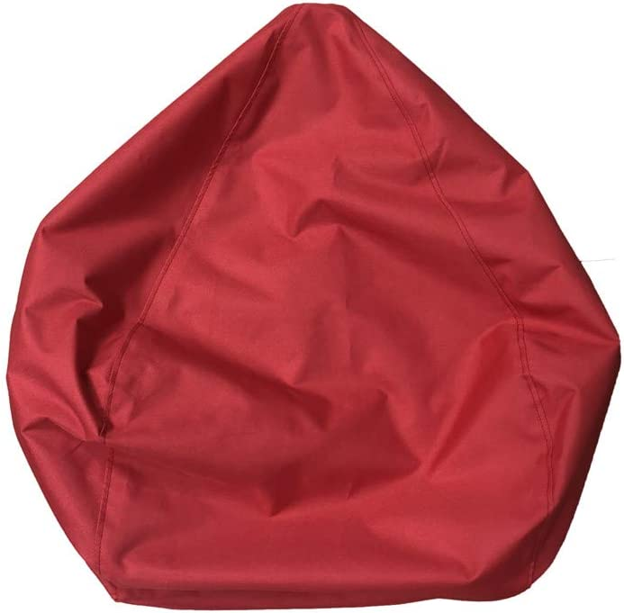 60X65CM Poltrona a Sacco Impermeabile per riporre Animali e Giocattoli Imbottitura Non Inclusa MeterMall Home in Tessuto Oxford Rosa