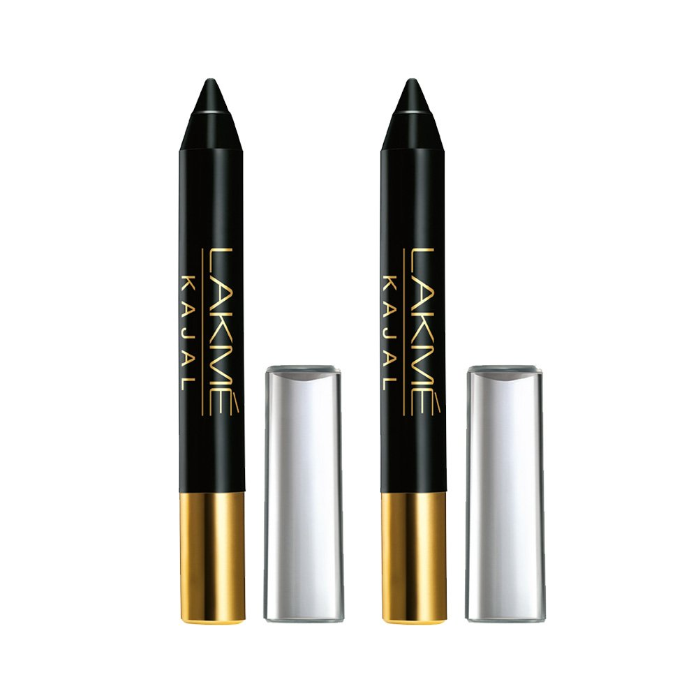 Lakme Kajal, Black, 2g (Pack of 2)