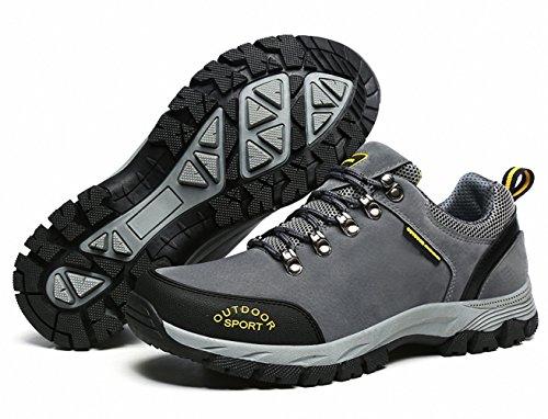 imperméables des Trekking39 Outdoor Hommes Nubuck de Baskets de Marchant BenSorts pour Gris 49 des Randonnée antidérapant Chaussures S6UvqOt