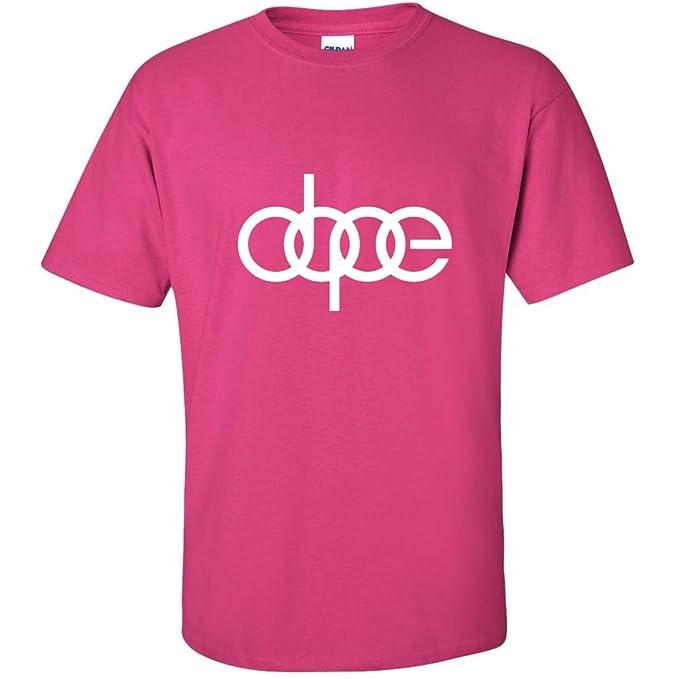 Dope, Audi TT S4 QUATTRO VW Turbo Boost JDM Illest R8 - Camiseta de manga corta para hombre rosa 2 x l: Amazon.es: Ropa y accesorios
