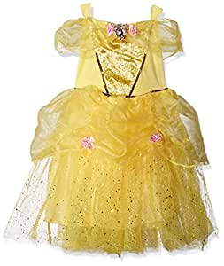 Disguise Costumes Belle Deluxe Disney Princess Beauty and The Beast Costume, X-Small/3T-4T
