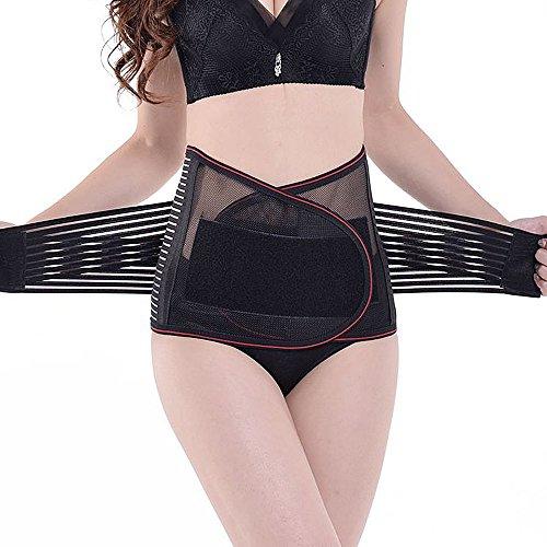 KIWI RATA Waist Trimmer Belt For Men & Women - Fully Adjustable Waist Slimming Belts - Provides Best Support For Lower Back & Lumbar by KIWI RATA