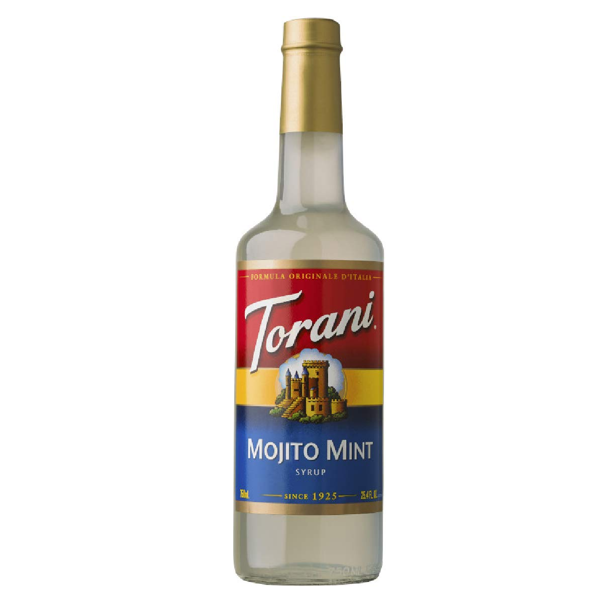 Torani Mojito Mint Syrup, 750 ml Bottle