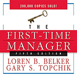 The First-Time Manager Audiobook