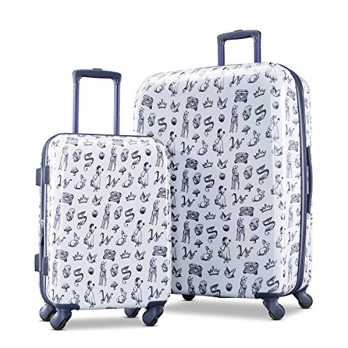 American Tourister Disney Hardside Luggage with Spinner Wheels, Snow White