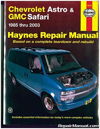 NOS-H24010-2003 Haynes Chevrolet Astro GMC Safari Mini-vans 1985-2003 Auto Repair Manual