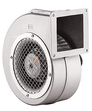 BDRS-125-50 Radialventilator AC Zentrifugalventilator Blechgeh/äuse