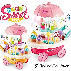 Brand-Conquer-Luxury-Sweet-Shopping-Battery-Operated-Ice-Cream-Trolley-Pretend-Roll-Plastic-Play-Set-with-LED-Lights-and-Music-Learning-and-Educational-Toy-for-Kids