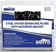 "Sierra International 18-7852-2 1/4"" Aluminum Marine Fuel Water Separator Kit for Johnson/Evinrude Outboar"