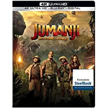 Jumanji: Welcome to the Jungle Limited Edition 4K Steelbook
