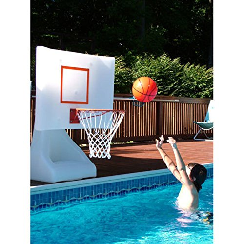 Rock the House Swimming Pool Basketball Game | Hadley Society