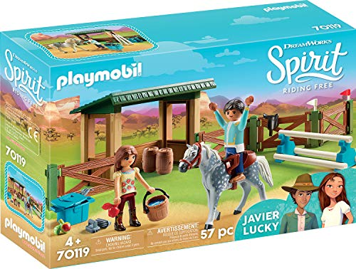 PLAYMOBIL® Spirit Riding Free Riding Arena with Lucky & Javier