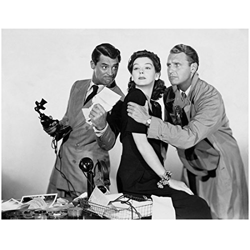 Cary Grant Holding Phone and Crushing Paper by Others 8 x 10 Inch Photo
