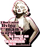 Aquarius Marilyn Monroe Quote Funky Chunky Magnet