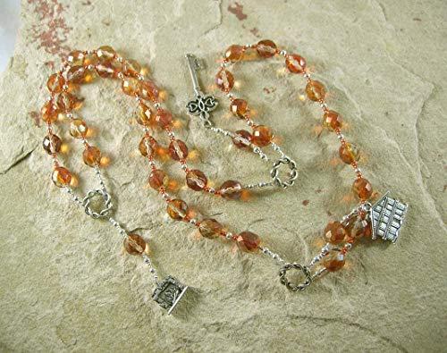 Brigid (Brighid, Brigit) Prayer Beads: Irish Celtic Goddess of Poetry, Crafts and - Prayer Goddess Beads