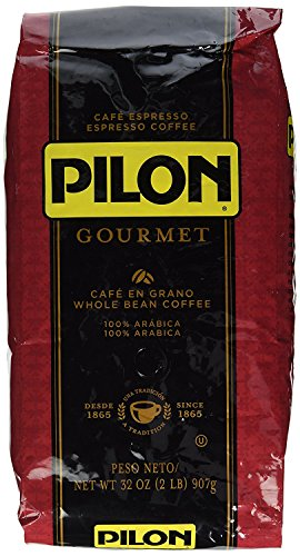 Pilon Whole Bean Restaurant Blend Espresso Coffee, 32 Ounce