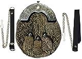 Best Kilts Sporrans - Full Dress Kilt Sporran Grey Rabbit Fur Celtic Review