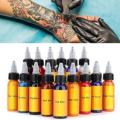 Tinta especial para tiendas de tatuajes, set de tintas para ...