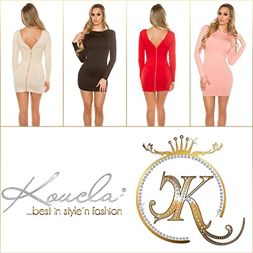 KouCla - Vestido - Estuche - para mujer altrosa