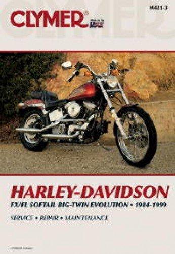 Download M421-3 1984-1999 Harley-Davidson FXS FLS Softail Evolution Clymer Motorcycle Repair Manual ebook