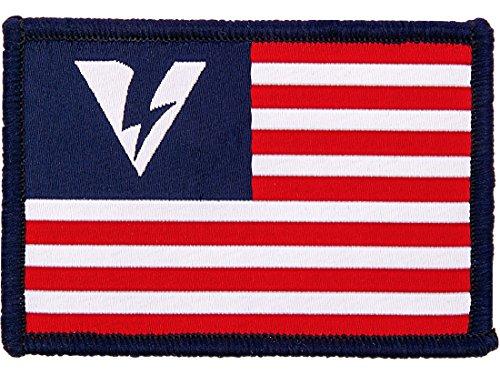 Oakley Men's SI Flag Logo Morale Velcro Patch, 2