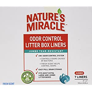 Nature's Miracle Odor Control Jumbo Litter Box Liners 23
