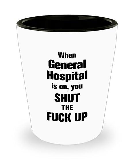 Amazon.com: Divertido vaso de chupito para hospital general ...