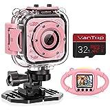 VanTop Junior K3 Kids Camera, 1080P Supported Waterproof Video Camera w/ 16Gb Memory