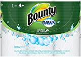 Bounty with Dawn Paper Towels, White, Giant Roll, 3 Count