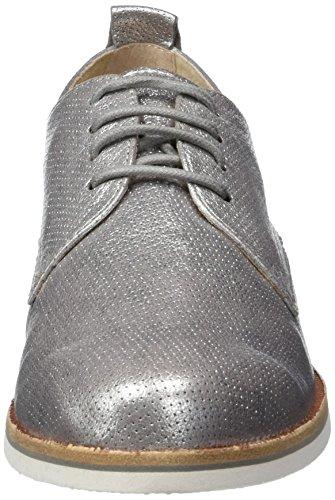 Caprice metallizzato grigio donna grigio Oxfords 23200 gYWnYqx6S