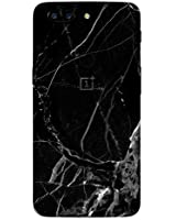 GADGETS WRAP Oneplus 5T Black Marble Skin