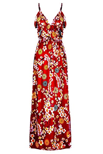 Buy belted feather print dress - 2